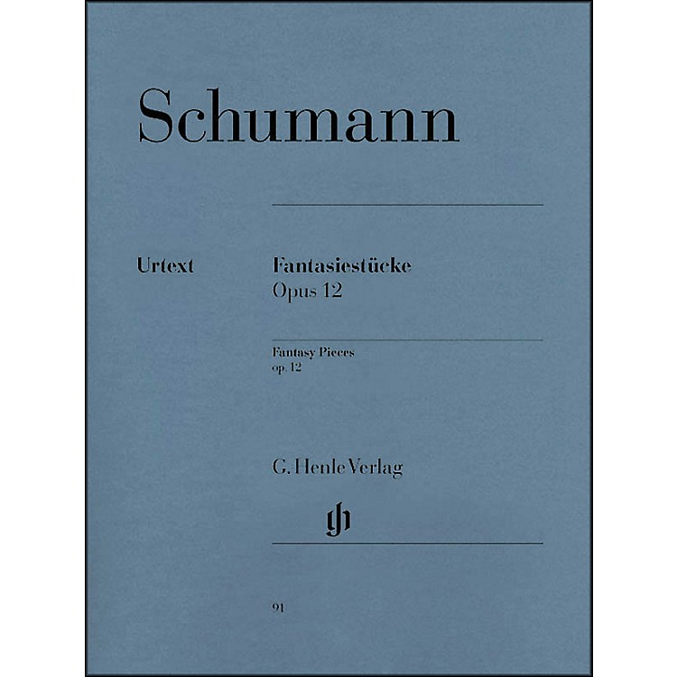 G. Henle VerlagFantasy Pieces Op. 12 (with Appendix: Woo 28) By Schumann