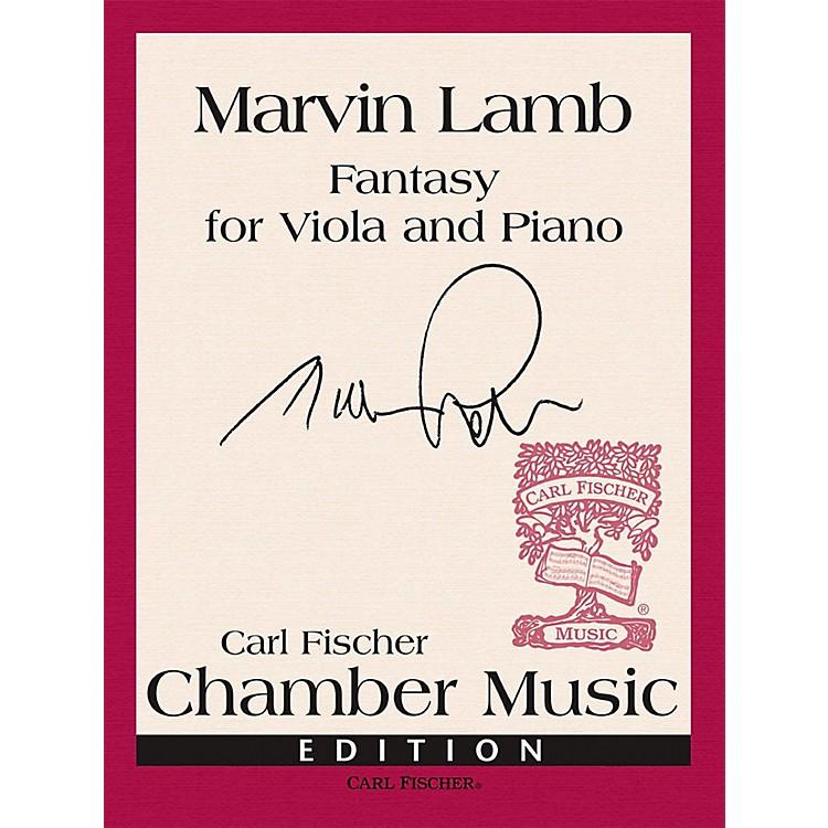 Carl FischerFantasy for Solo Viola and Piano