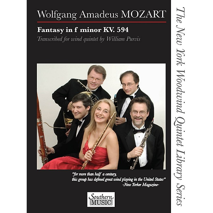 SouthernFantasy in F Minor, K. 594 Southern Music Series by Wolfgang Amadeus Mozart