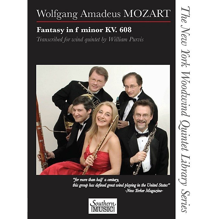 SouthernFantasy in F Minor, K. 608 Southern Music Series by Wolfgang Amadeus Mozart