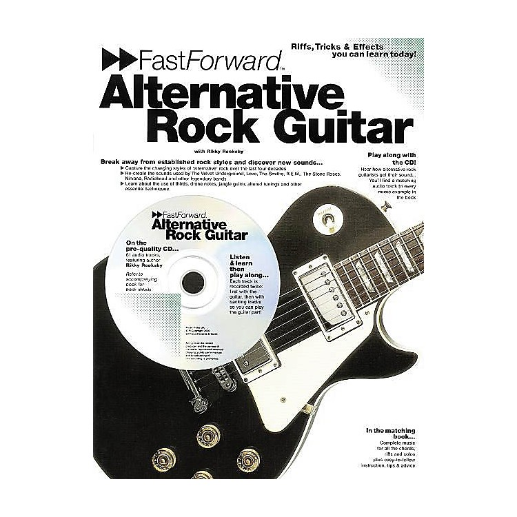 Music SalesFast Forward - Alternative Rock Guitar Music Sales America Series Softcover with CD by Rikky Rooksby