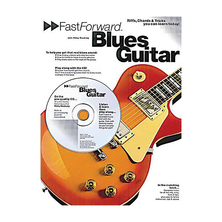 Music SalesFast Forward - Blues Guitar Music Sales America Series Softcover with CD Written by Rikky Rooksby