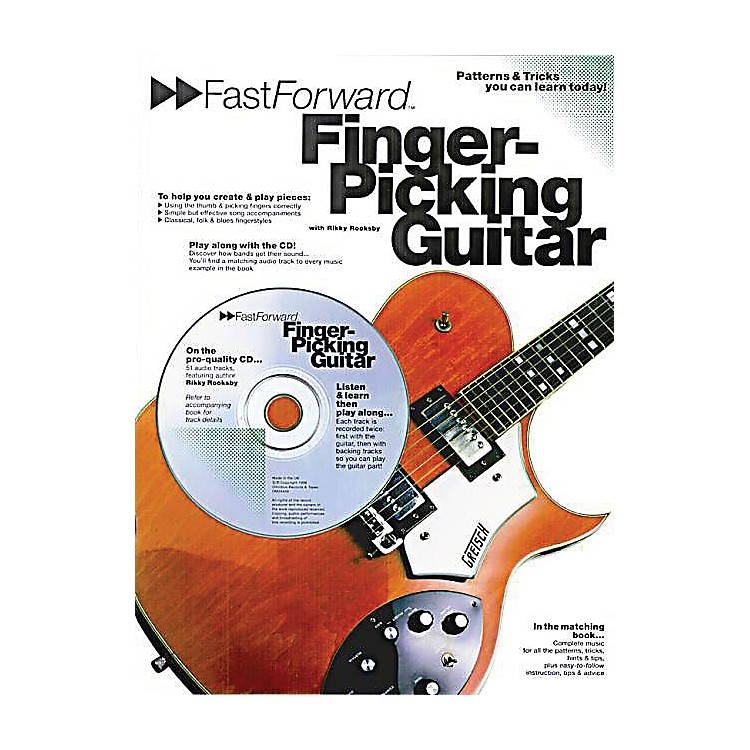 Music Sales Fast Forward - Fingerpicking Guitar Music Sales America Series Softcover with CD Written by Rikky Rooksby