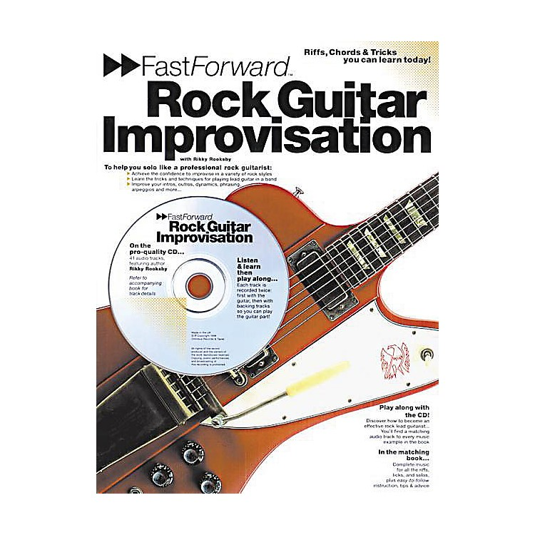 Music SalesFast Forward - Rock Guitar Improvisation Music Sales America Series Softcover with CD by Rikky Rooksby
