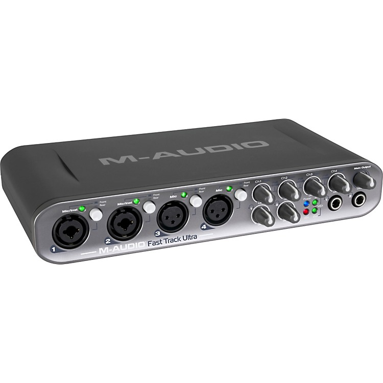 M-Audio Fast Track Ultra USB 2.0 Audio Interface