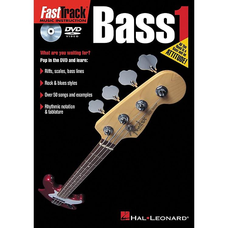 Hal LeonardFastTrack Bass 1 (DVD)