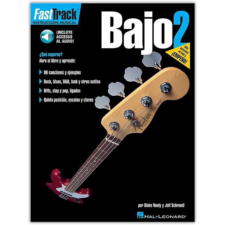 Hal LeonardFastTrack Bass Method Book 2 Book/CD Spanish Edition