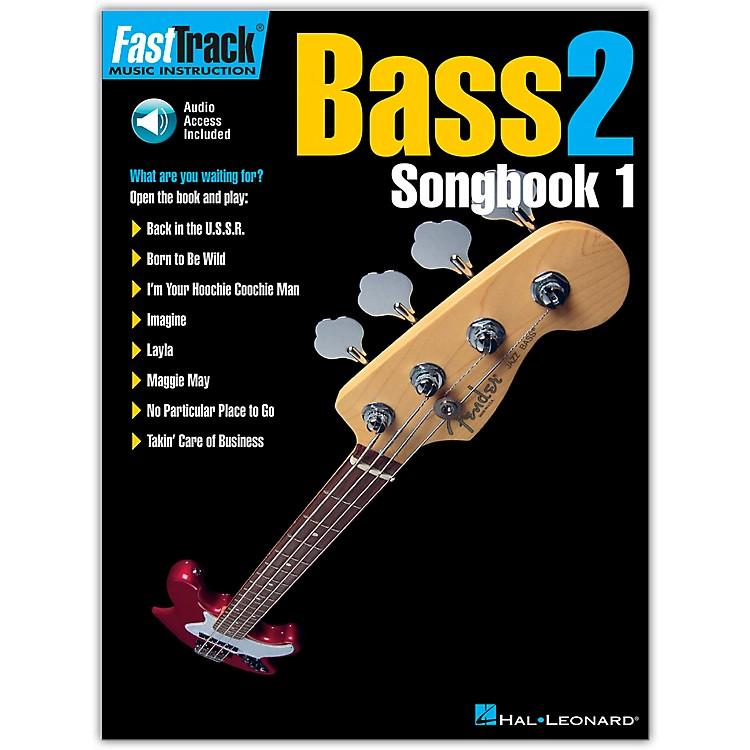 Hal LeonardFastTrack Bass Songbook 1 Level 2 (Book/Online Audio)