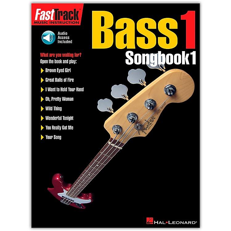 Hal LeonardFastTrack Bass Tab Songbook 1 (Book/Online Audio)