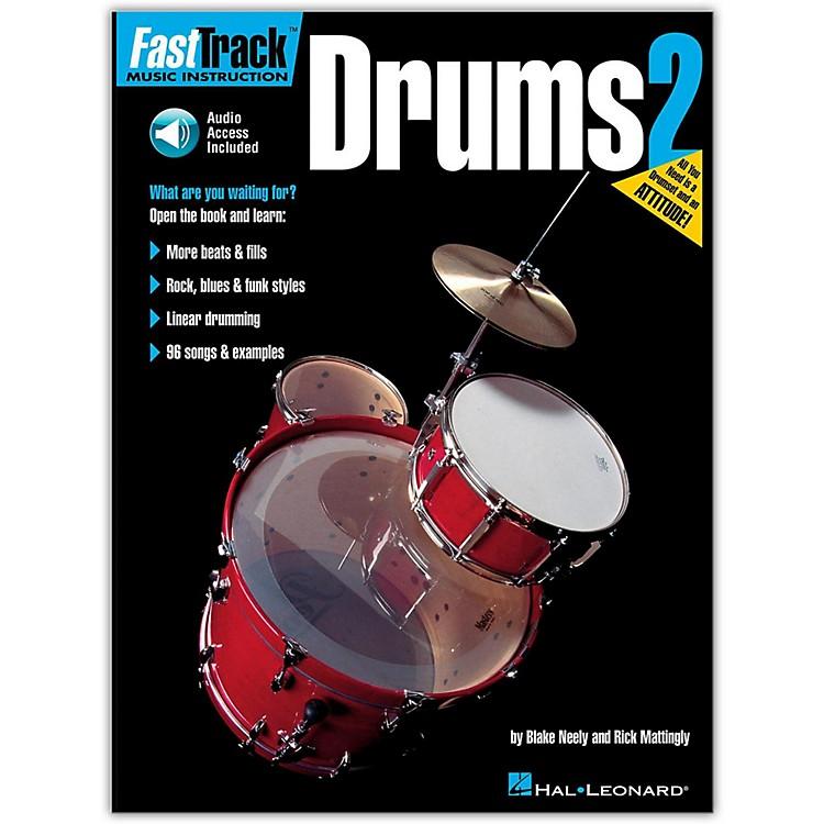 Hal LeonardFastTrack Drum Method - Book 2 with Online Audio