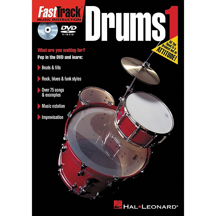 Hal Leonard FastTrack Drums 1 (DVD)