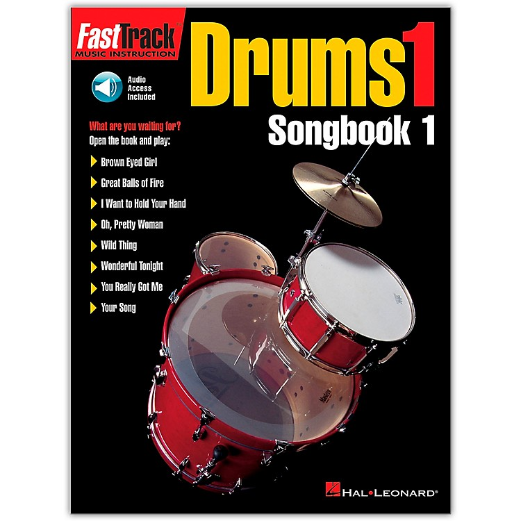 Hal LeonardFastTrack Drums1 Songbook 1 (Book/Online Audio)