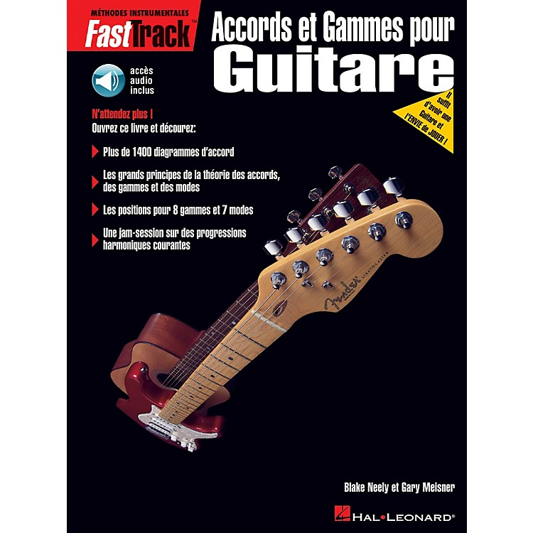 Hal LeonardFastTrack Guitar Chords & Scales - French Edition BK/CD by Blake Neely