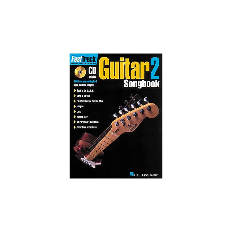 Hal LeonardFastTrack Guitar Songbook 1 - Level 2 (CD and Book)