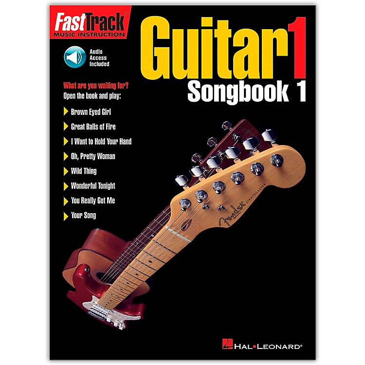 Hal Leonard FastTrack Guitar Songbook 1 Level 1 (Book/Online Audio)