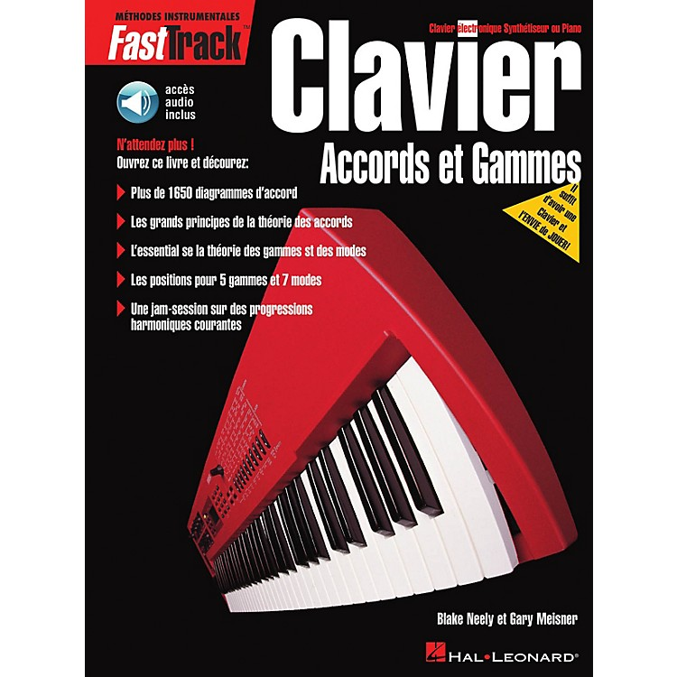 Hal LeonardFastTrack Keyboard Chords & Scales - French Edition Fast Track Music Instruction BK/CD