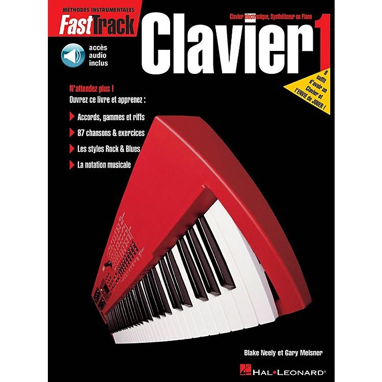 Hal LeonardFastTrack Keyboard Method - Book 1 - French Edition Fast Track Music Instruction BK/Audio Online