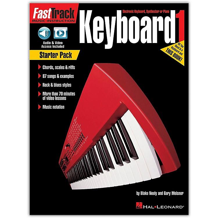 Hal LeonardFastTrack Keyboard Method - Starter Pack Book/Online Audio and Video