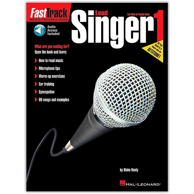 Hal LeonardFastTrack Lead Singer Method - Book 1 (Book/CD)