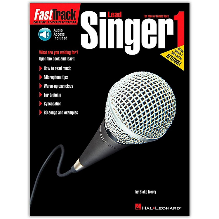 Hal LeonardFastTrack Lead Singer Method - Book 1 (Book/Online Audio)