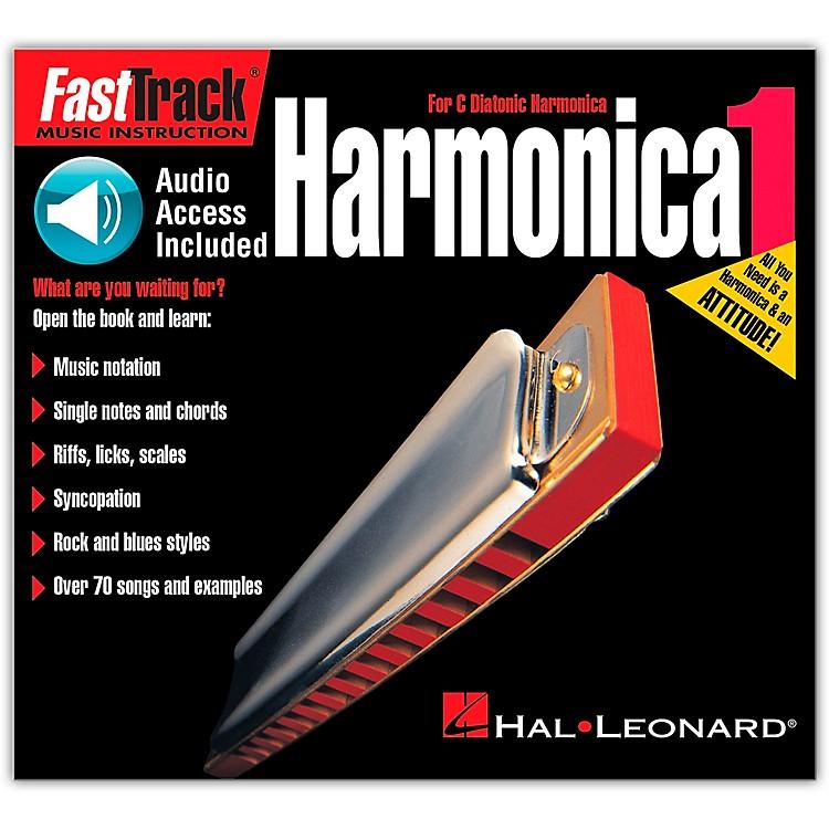 Hal LeonardFastTrack Mini Harmonica Book 1 Book/CD