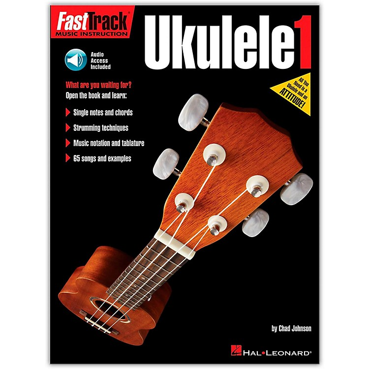 Hal LeonardFastTrack Ukulele Method Book 1 Book/CD
