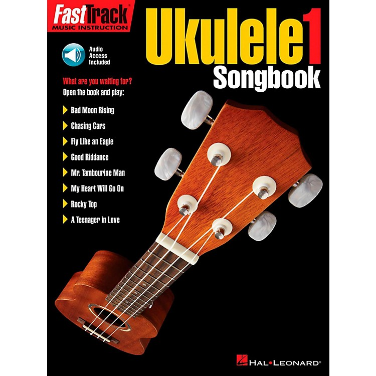 Hal Leonard FastTrack Ukulele Songbook-Level 1 Book/Audio Online