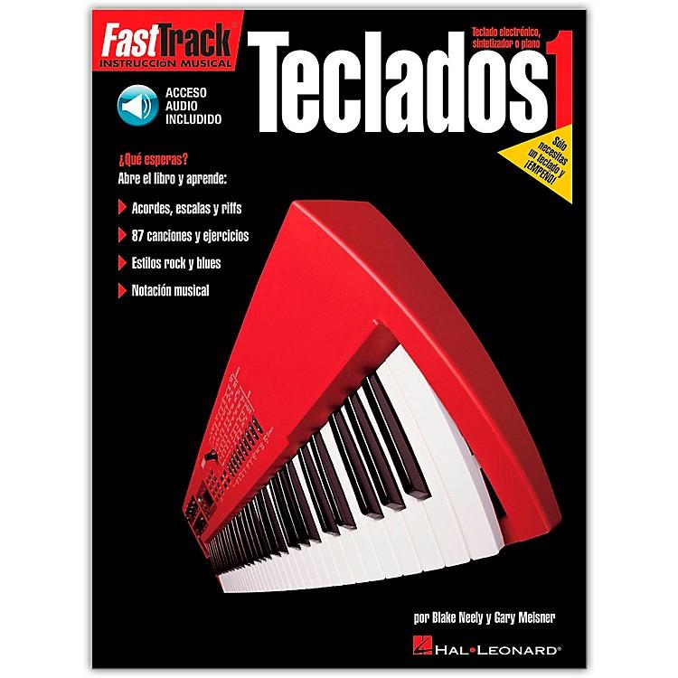 Hal LeonardFasttrack Keyboard Method Book 1 - Spanish Edition (Book/Online Audio)