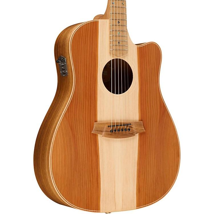 Cole ClarkFat Lady 2 Series Australian Eco Redwood/Blackwood Dreadnought Acoustic-Electric GuitarNatural