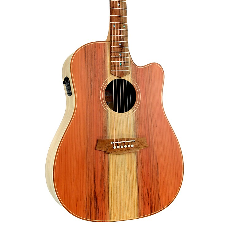 Cole ClarkFat Lady 2 Series CCFL2EC-RDEM Dreadnought Acoustic-Electric GuitarNatural