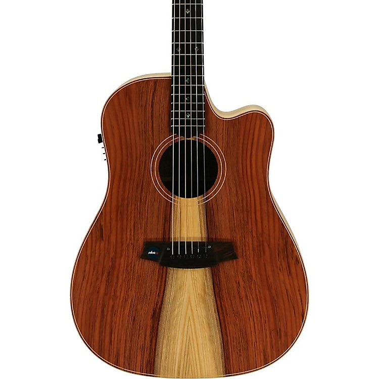 Cole Clark Fat Lady 2 Series Dreadnought Acoustic-Electric Guitar Natural