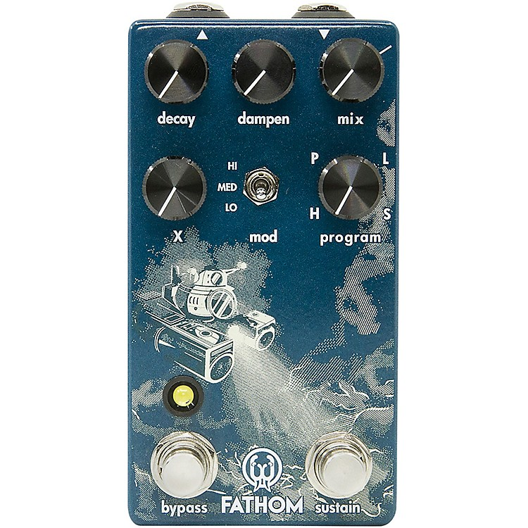 Walrus AudioFathom Multi-Function Reverb Effects Pedal