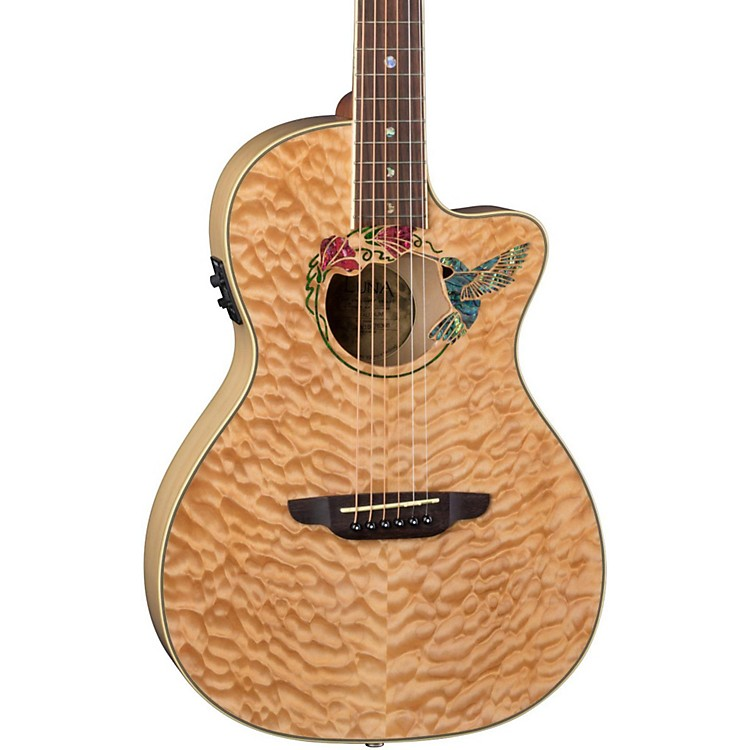 Luna Guitars Fauna Humminbird Acoustic-Electric Guitar Natural