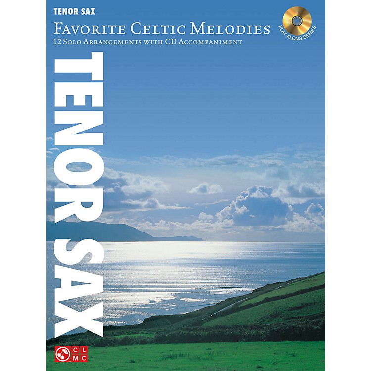 Hal Leonard Favorite Celtic Melodies For Tenor Sax Book/CD