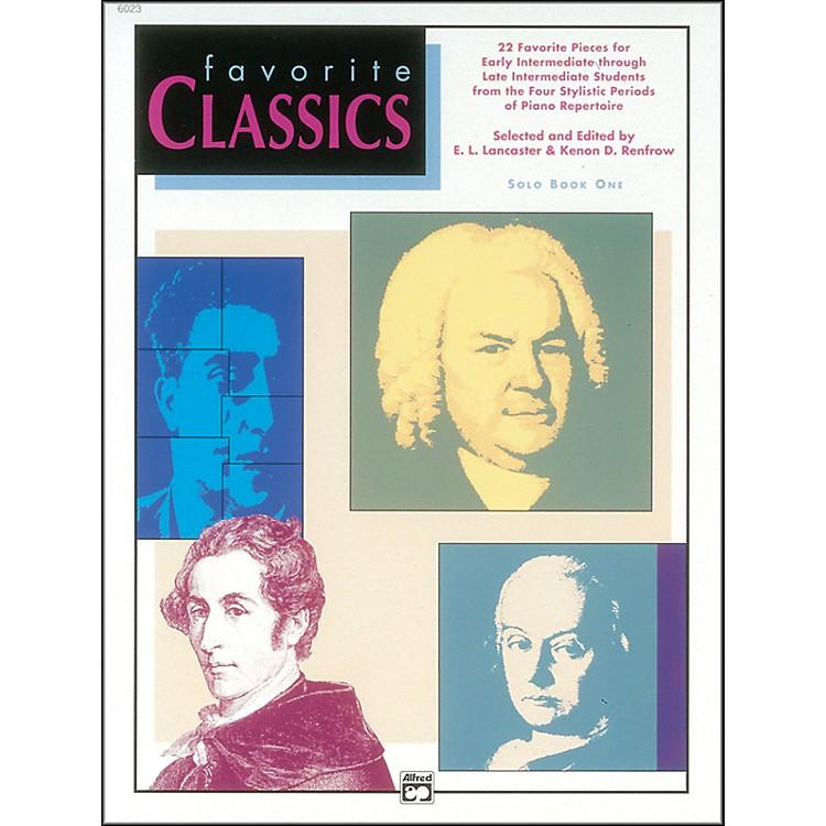 AlfredFavorite Classics Solo Book 1 Solo Book 1