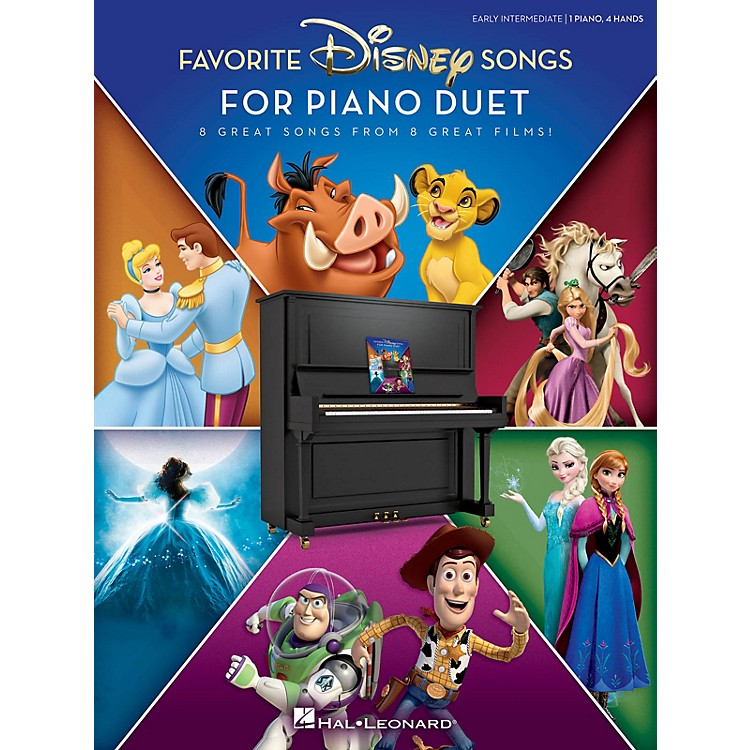 Hal Leonard Favorite Disney Songs for Piano Duet 1 Piano, 4 Hands / Early Intermediate