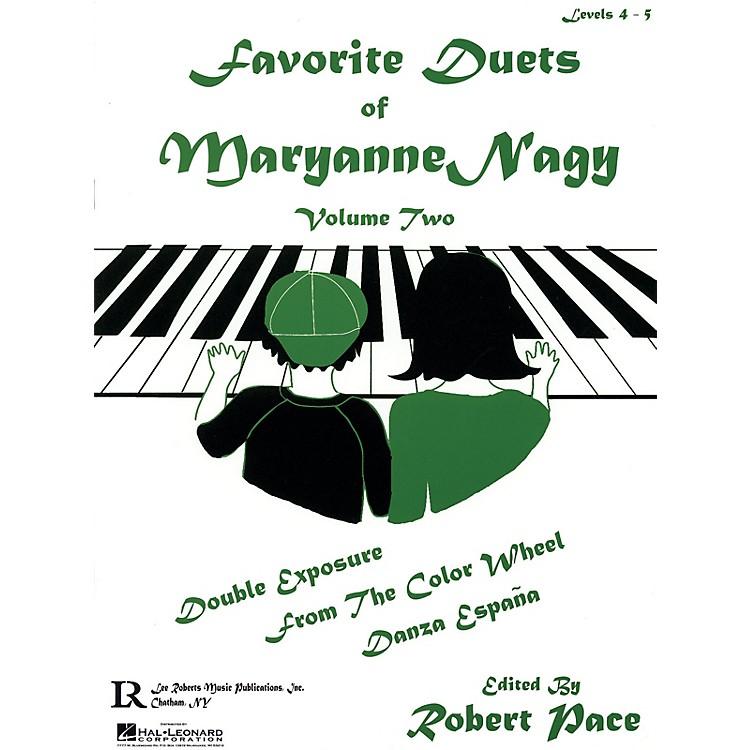 Lee RobertsFavorite Duets of Maryanne Nagy, Volume 2 Pace Piano Education Series Composed by Maryanne Nagy
