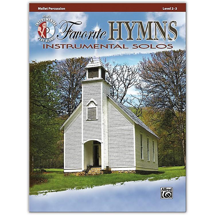 AlfredFavorite Hymns Instrumental Solos Mallet Book & CD Level 2-3