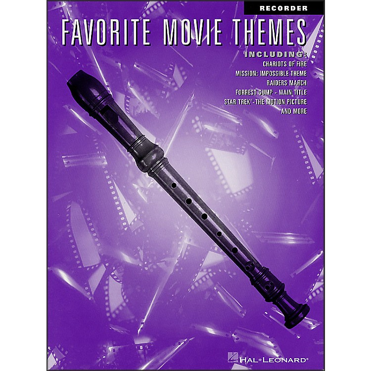 Hal Leonard Favorite Movie Themes for Recorder