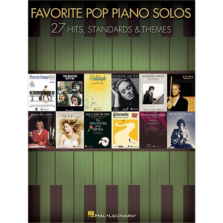 Hal LeonardFavorite Pop Piano Solos songbook
