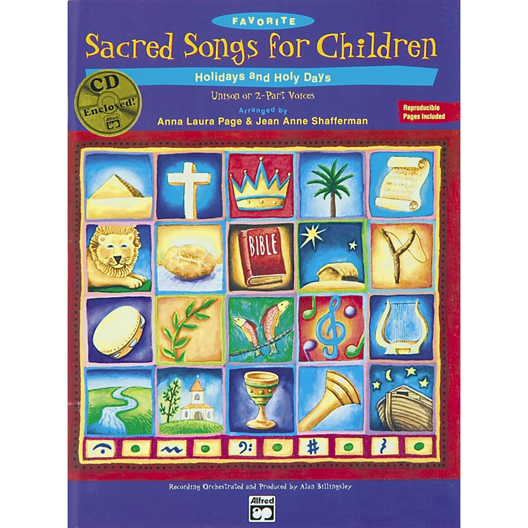 AlfredFavorite Sacred Songs for Children, Holidays and Holy Days - 2 of 3 Songbook