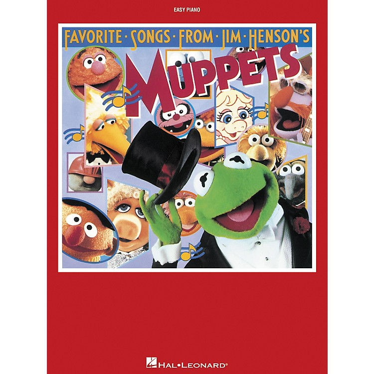 Hal Leonard Favorite Songs From Jim Henson's Muppets For Easy Piano