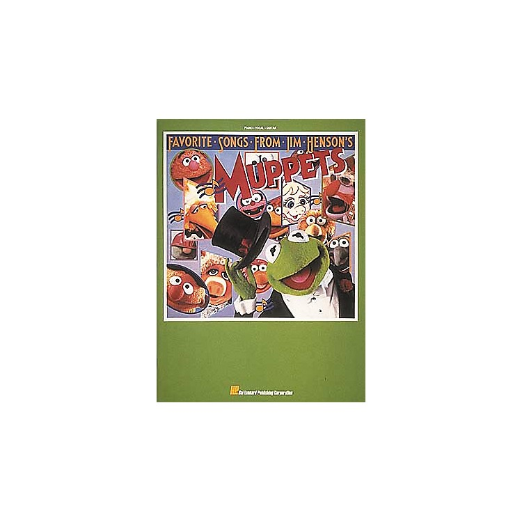 Hal LeonardFavorite Songs From Jim Henson's Muppets Piano/Vocal/Guitar Songbook