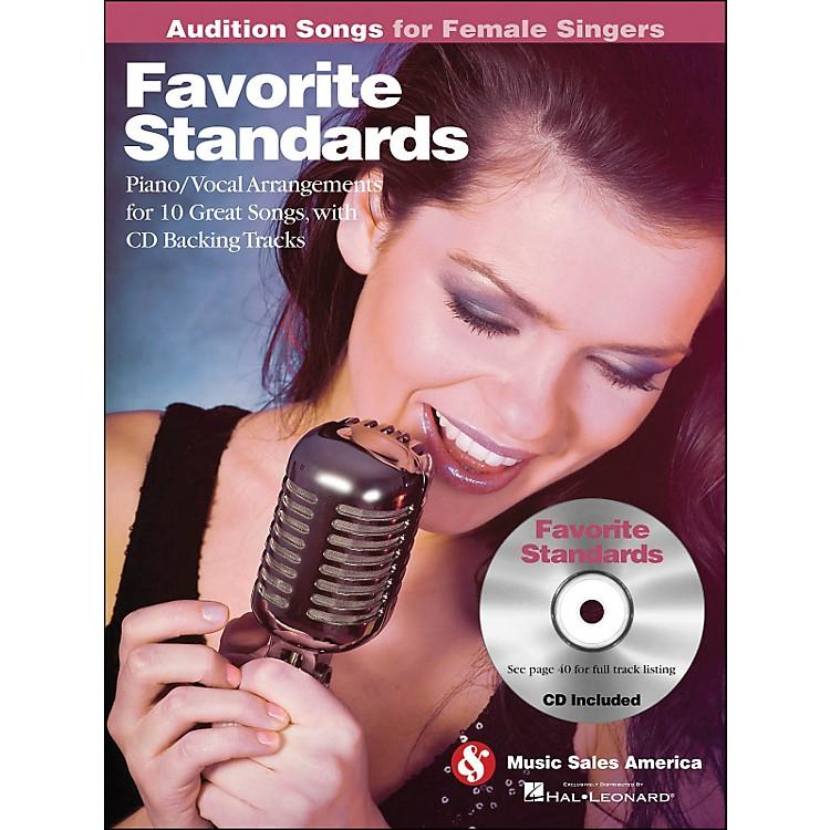 Hal LeonardFavorite Standards - Audition Songs for Female Singers Book/CD