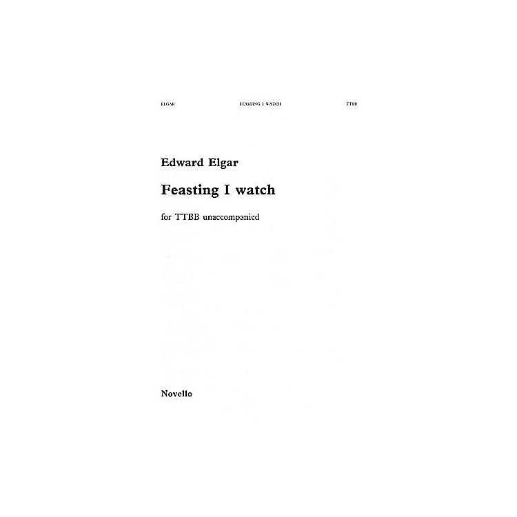 NovelloFeasting I Watch TTBB Composed by Edward Elgar