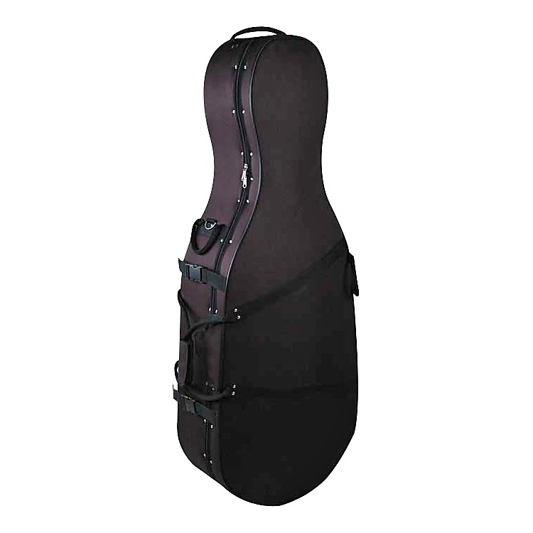 Bellafina Featherweight Cello Case Black 1/2 Size