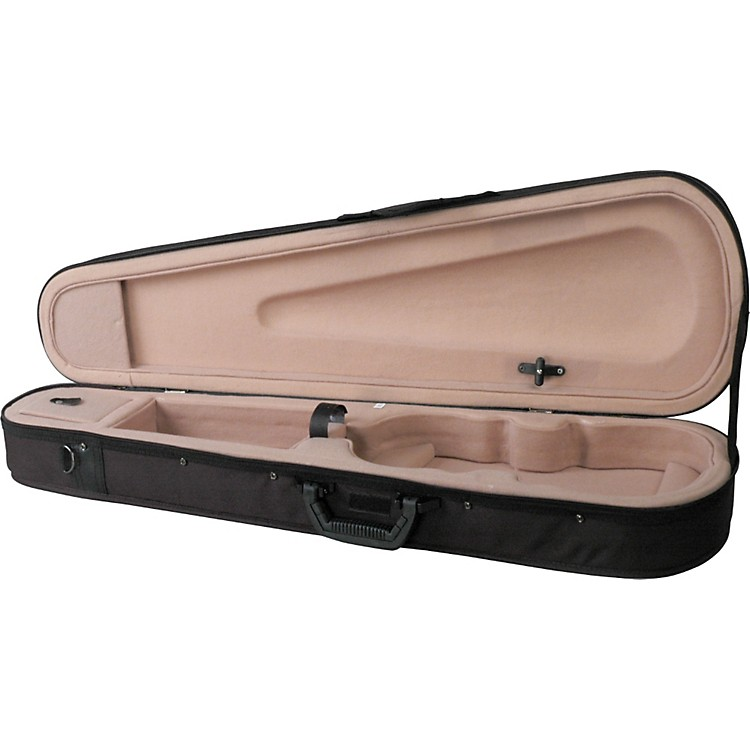 Bellafina Featherweight Shaped Viola Case Black 14 in.