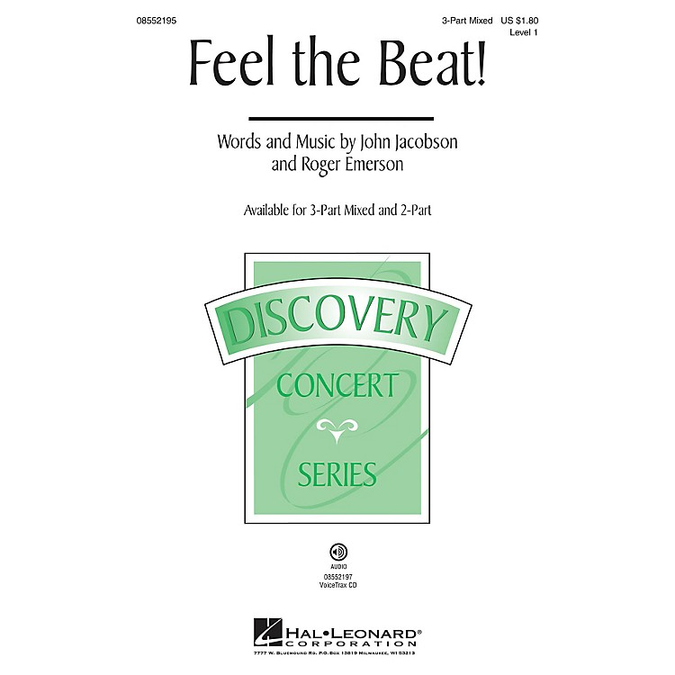 Hal Leonard Feel the Beat! (Discovery Level 1) VoiceTrax CD Composed by Roger Emerson