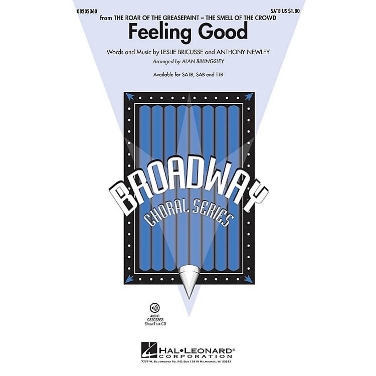 Hal LeonardFeeling Good TTB by Michael Bublé Arranged by Alan Billingsley