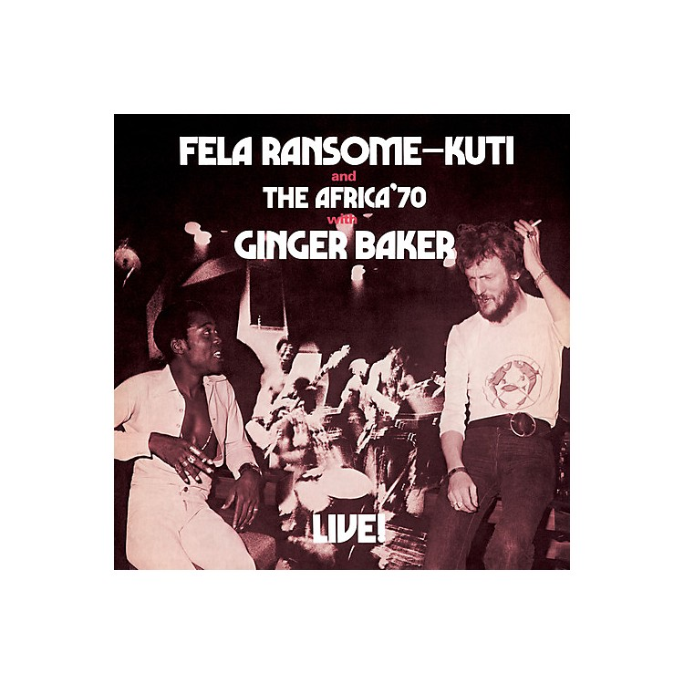 Alliance Fela Kuti - Fela Live with Ginger Baker